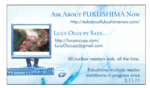 Lucy Occupy suggests.... FOLLOW THAT BLOG!