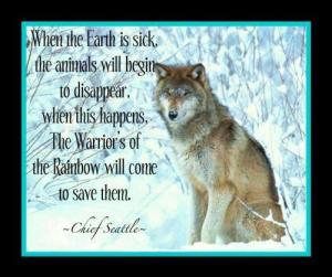 RAINBOW WARRIORS CHIEF SEATTLE