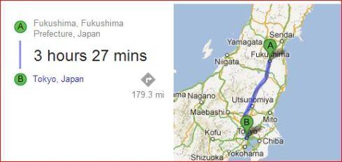 Capture Tokyo to Fukushima