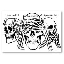 ele skulls see hear speak no evil