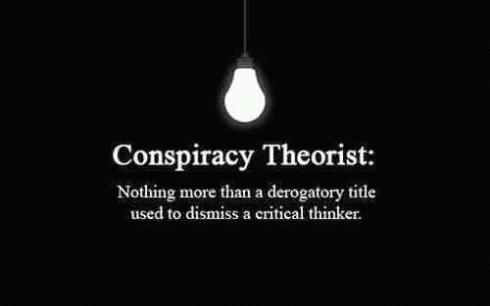 conspiracy theorist and critical thinkers