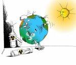 earth nuked