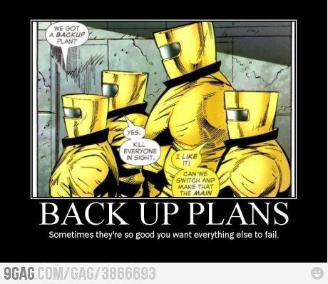 ele back up plans