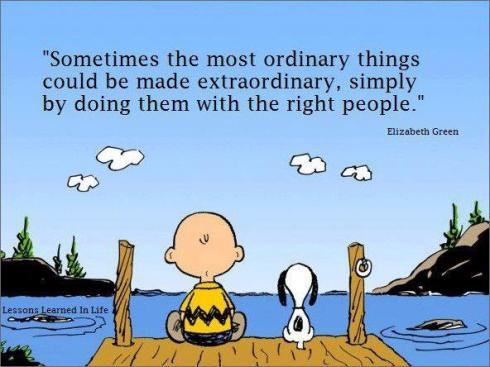 Charlie Brown ordinary and extraordinary