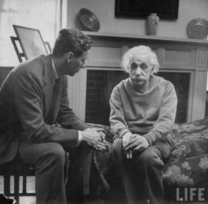 EINSTEIN  The release of atom power has changed everything except our way of thinking..the solution to this problem lies in the heart of mankind.  If only I had known, I should have become a watchmaker