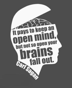 sagan  open mind
