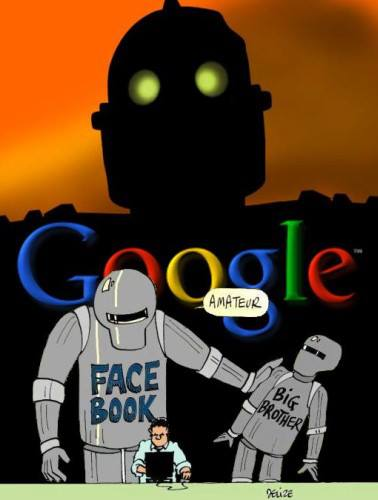google thought police