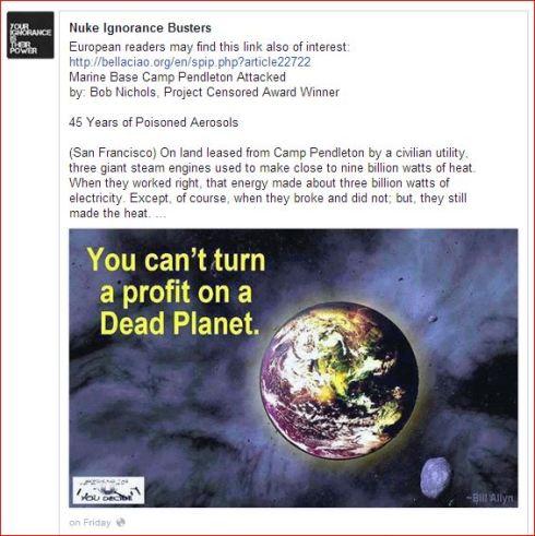 Capture no profit on dead planet