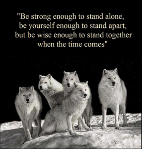 wolf strong enough