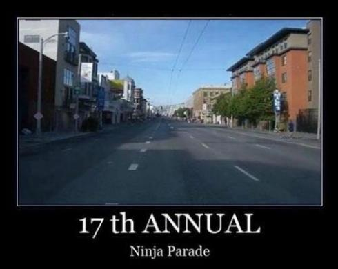 17th annual ninja parada
