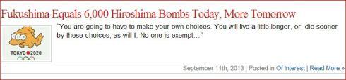 Bob Nichols Veterans Today Fukushima 9 11 13