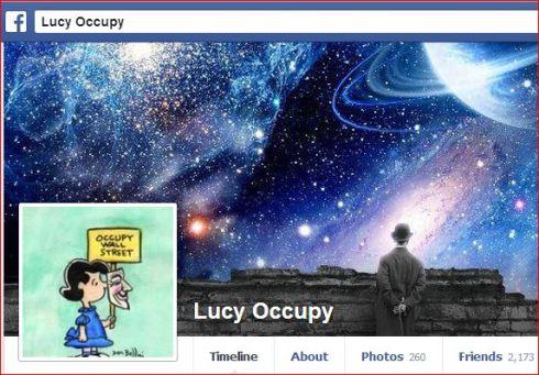 https://www.facebook.com/LucyOccupy.311 Tweet Tweet Too.... https://twitter.com/LucyOccupy