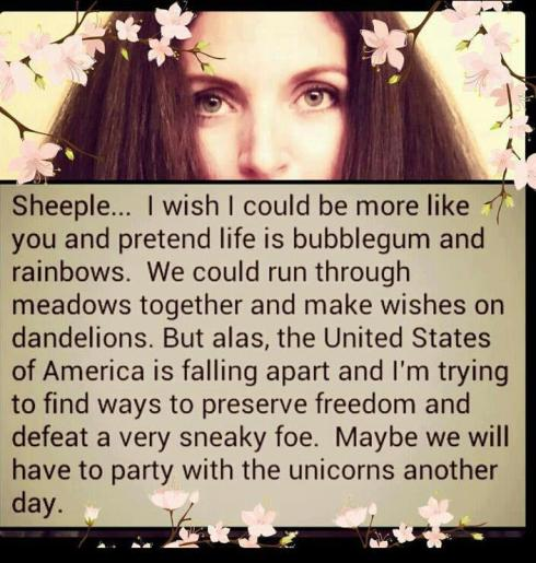 sheeple and unicorns