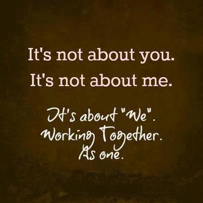 we  working together  like ANTS