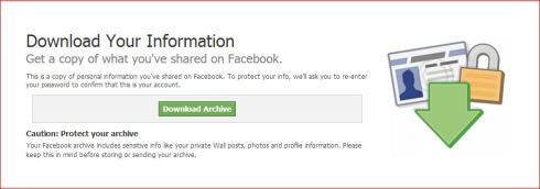 download fb data