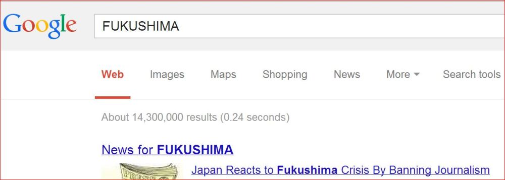 #Fukushima Global News Disappearing from Internet while Radiation Contamination Spreads Wildly (3/6)