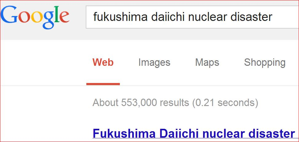#Fukushima Global News Disappearing from Internet while Radiation Contamination Spreads Wildly (4/6)