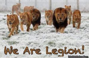 lions we are legion