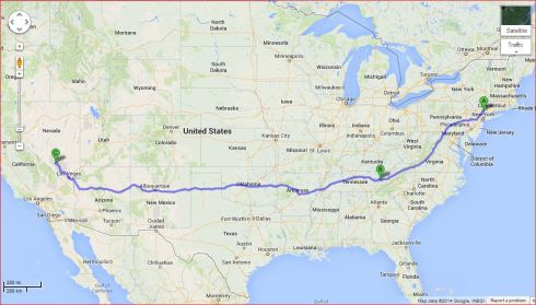Nevada Nuke Dump Route  BUMMER