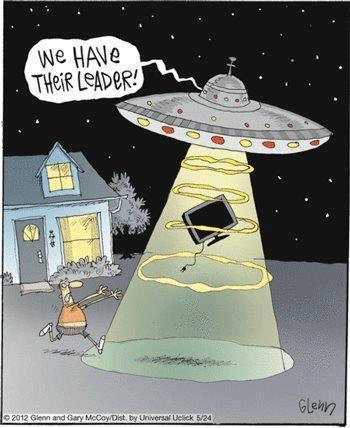 alien we have their leader