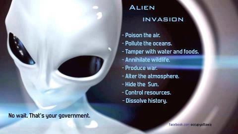 aliens responsible