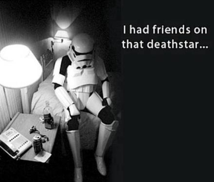 friends on that death star