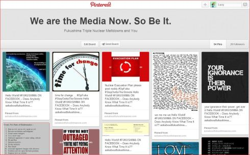 Pinterest 1 19 2014  WE ARE THE MEDIA NOW