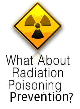 radiation poisoning prevention