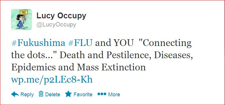 Fukushima:  3.11.11 - What Lucy Occupy and Some Friends Used to Believe  . . .  (6/6)