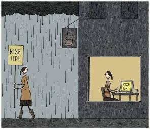 rain occupy virtually