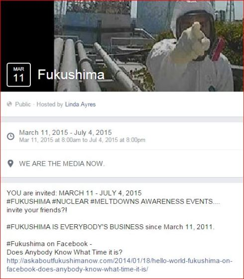 Fukushima Virtual 2015 events