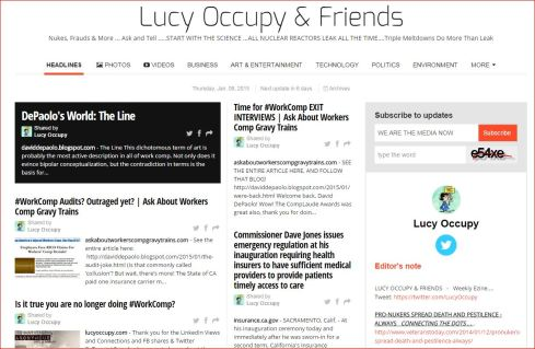 LUCY OCCUPY AND FRIENDS PAPERLI 1 8 2015