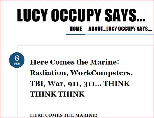 8 feb lucy occupy said