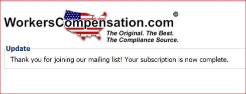 WorkersCompensation dot com subscription