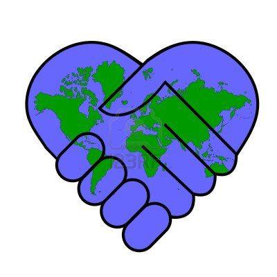 Love handshake