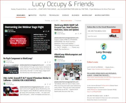 LUCY OCCUPY AND FRIENDS JULY 23 2015 PAPERLI