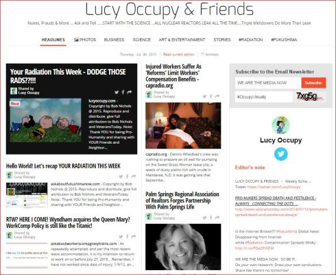 LUCY OCCUPY AND FRIENDS JULY 8 2015 PAPERLI