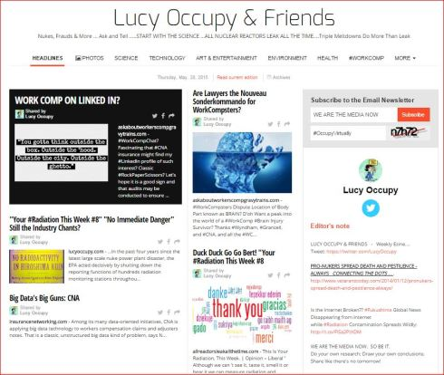 LUCY OCCUPY AND FRIENDS MAY 28 2015 PAPERLI