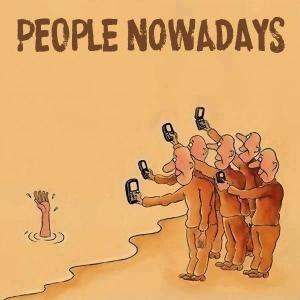 people nowadays cameras