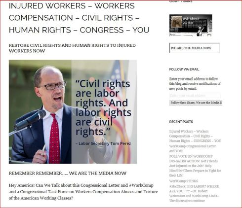 LUCY OCCUPY AND WORK COMP CIVIL AND HUMAN RIGHTS