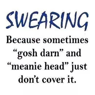Swearing WTF