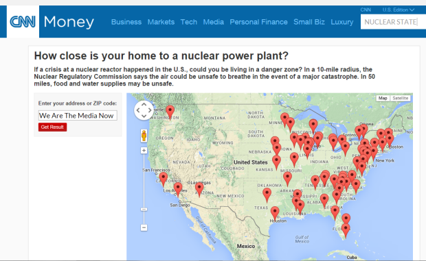 CNN HOW CLOSE IS YOUR HOME TO A NUCLEAR POWER PLANT