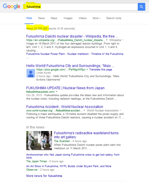 GOOGLE SEARCH FUKUSHIMA 11 16 2015 928 AM PST
