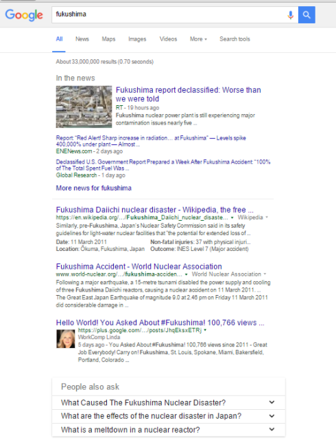 1 google search fukushima 12 12 2015 707 am pst 33000000