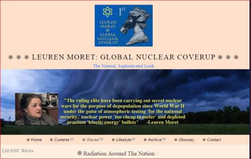 More Radiation Around The Nation website