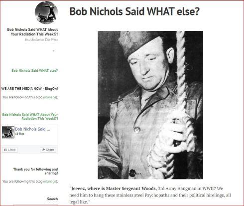 Bob Nichols Said WHAT ELSE