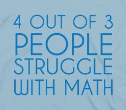 4 out of 3 people struggle with math - and there are 1946 known lethal isotopes -- DODGE THE RADS