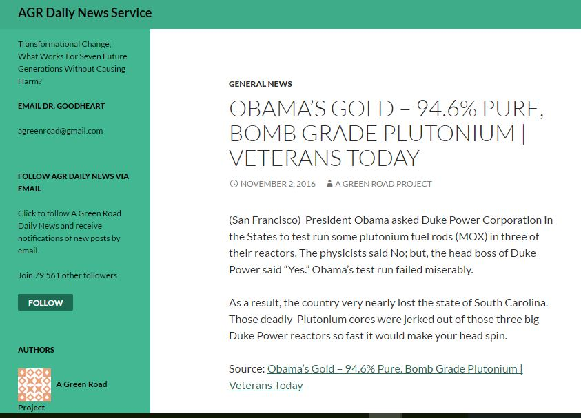 a-greenroad-project-continues-to-share-bob-nichols-veterans-today-obamas-gold-bomb-grade-plutonium-11-2-16